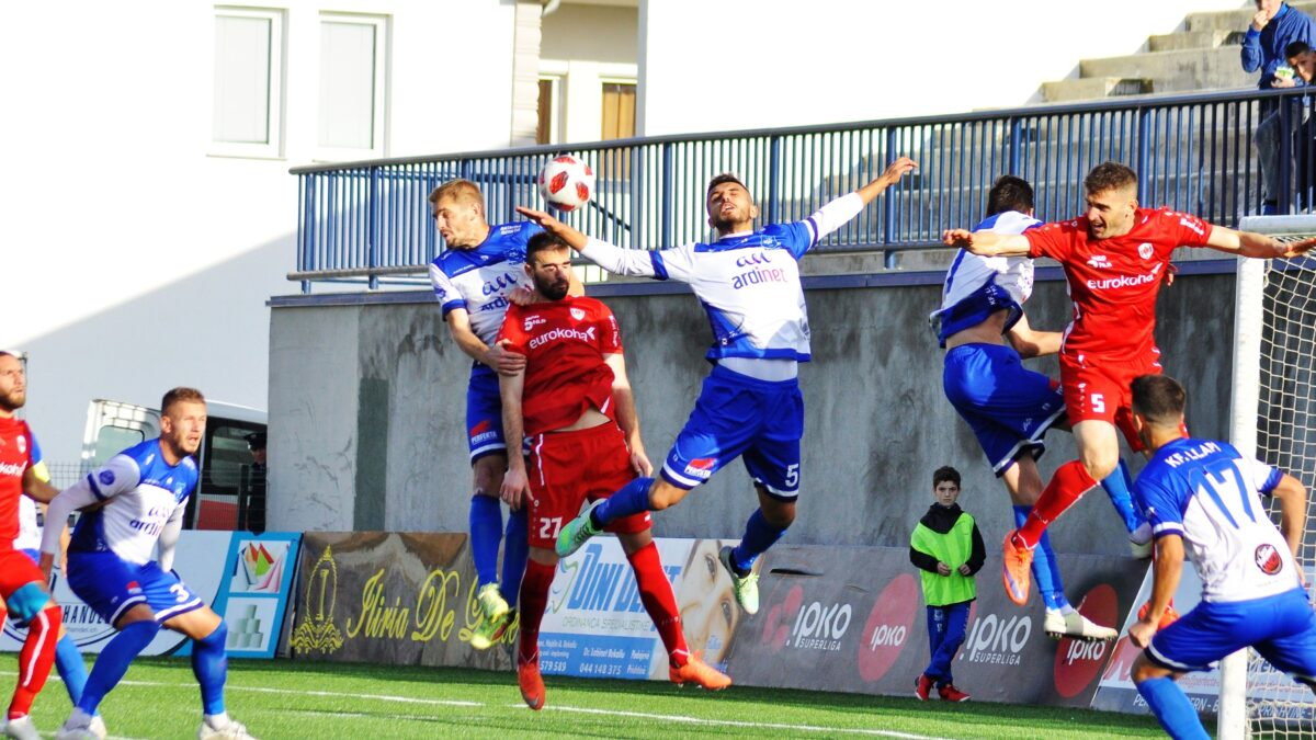 Drita and Gjilan continue to win Prishtina and Ballkan make wrong steps in the race for title