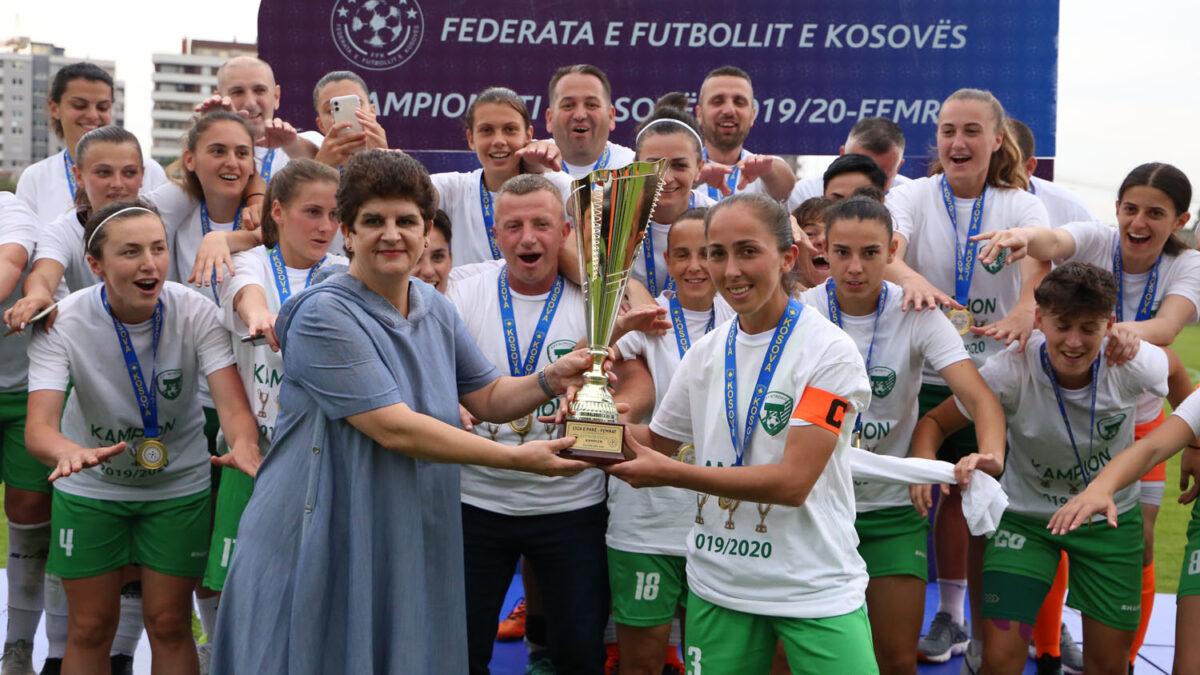Mitrovica champion of Kosovo in women's competition