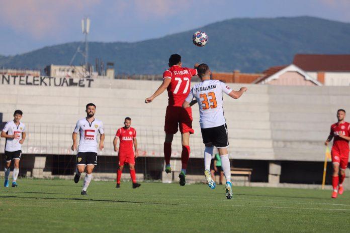 Përballja Gjilani-Ballkani mbyllet pa gola