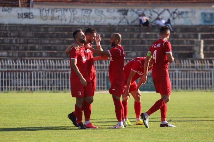 Gjilani triumfon ndaj Arbërisë