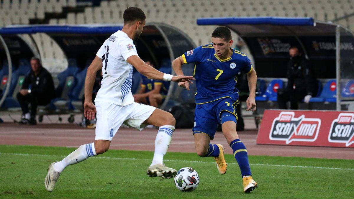 Kosova merr një pikë në Athinë