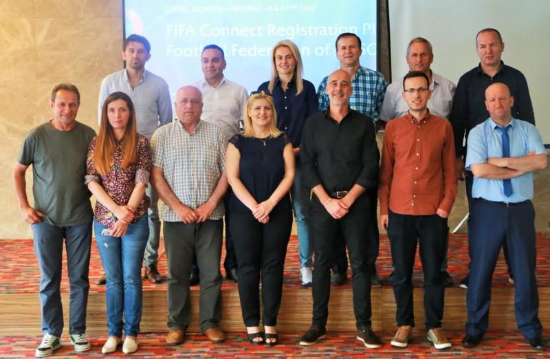 "Mbahet seminari ""FIFA Connect Platform"""