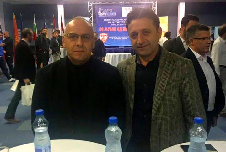 Presidenti Ademi dhe djali i legjendës Vokrri morën pjesë në samitin e gazetarëve sportivë në Ohër