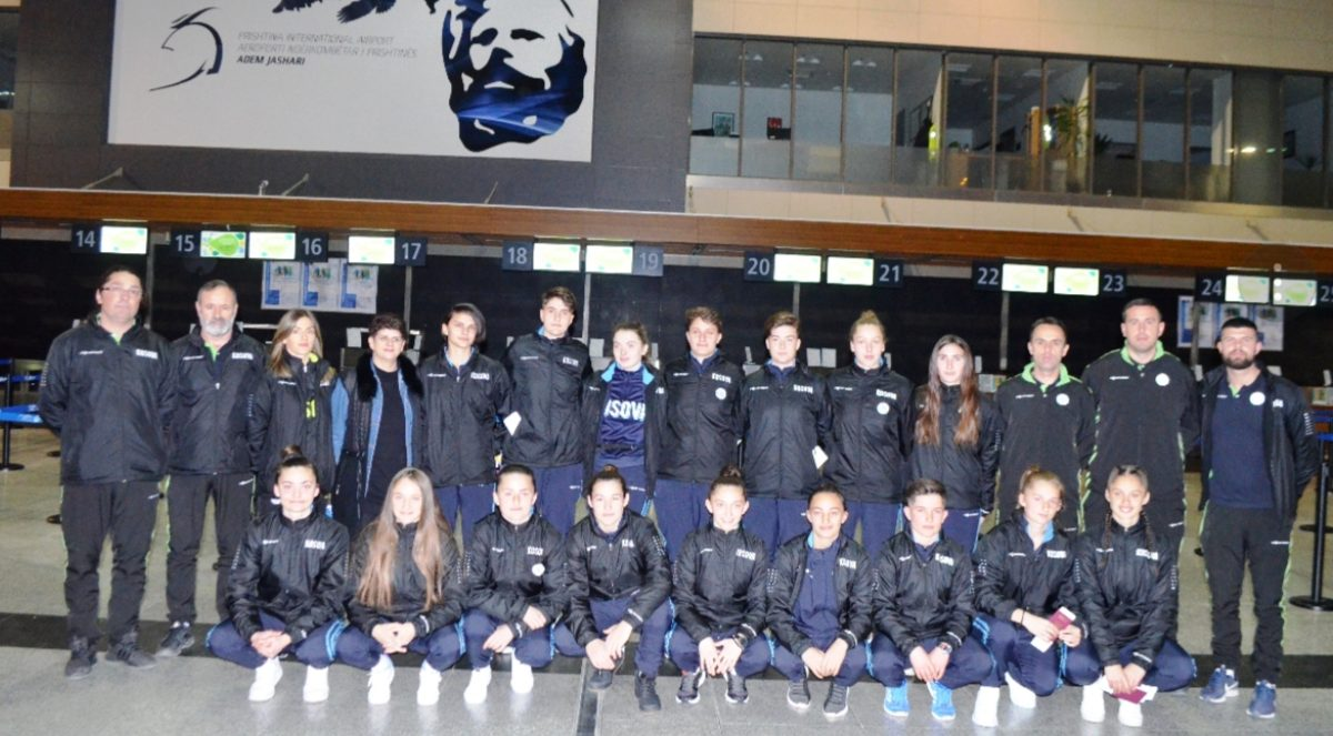 Kombëtarja U19 e femrave mbërriti në Antalya