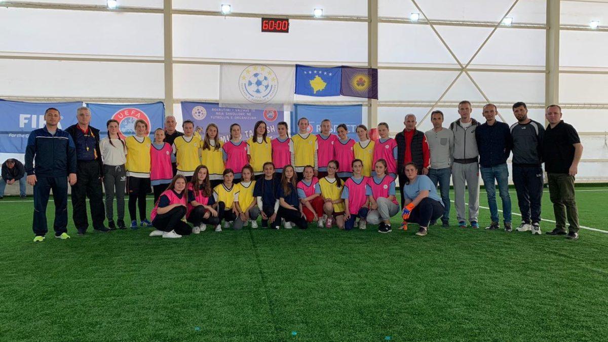 Dëshirë dhe vullnet për futboll edhe nga vajzat e reja  në Suharekë