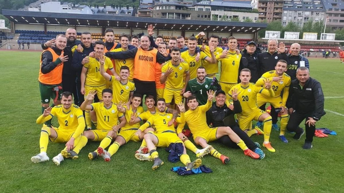 Kosova U21 shkëlqen kundër Andorrës, fiton 4:0