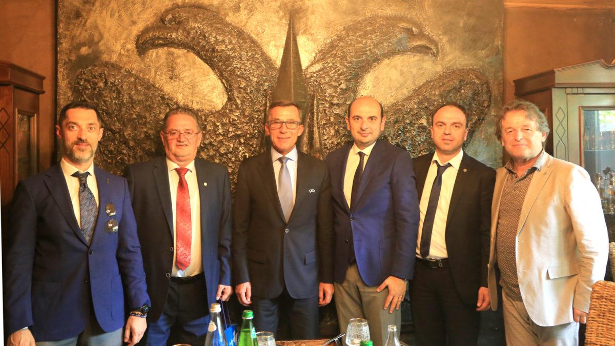 FFK shtroi drekë për delegacionin e Federatës turke