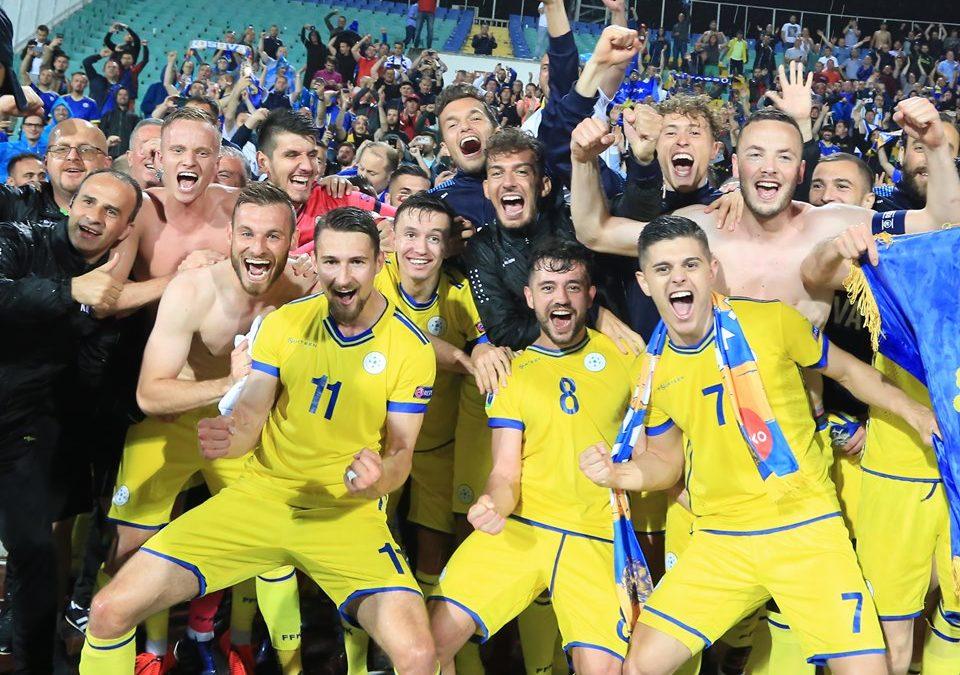 Amazing Kosovo enjoys historic win in Bulgaria