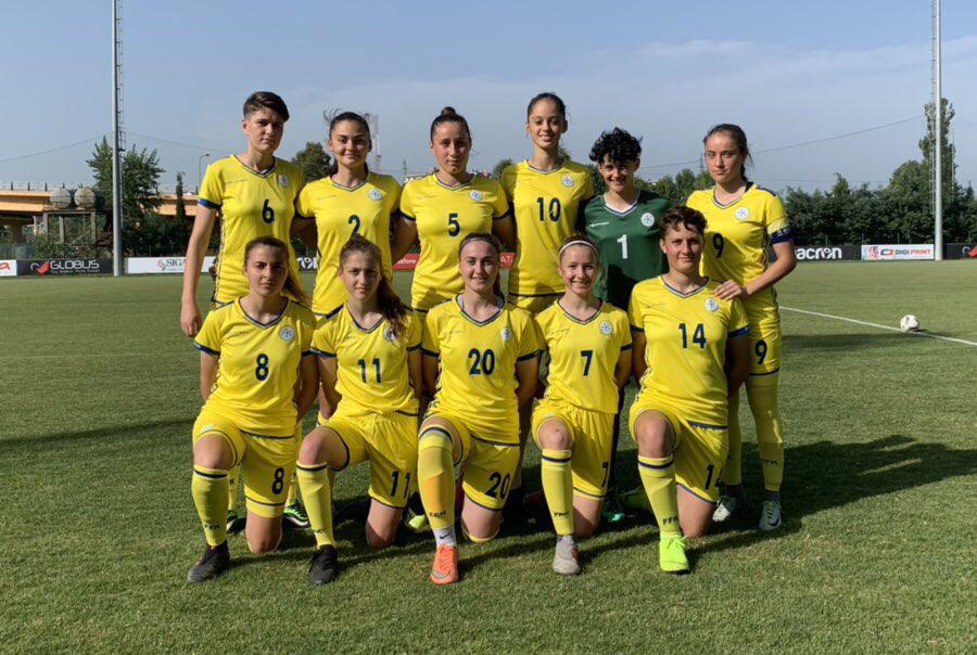 Femrat/Kosova U19 humb miqësoren kundër Shqipërisë U19