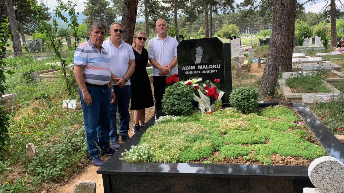 U bënë homazhe tek varri i ish-anëtarit të KE të FFK-së, Agim Maloku