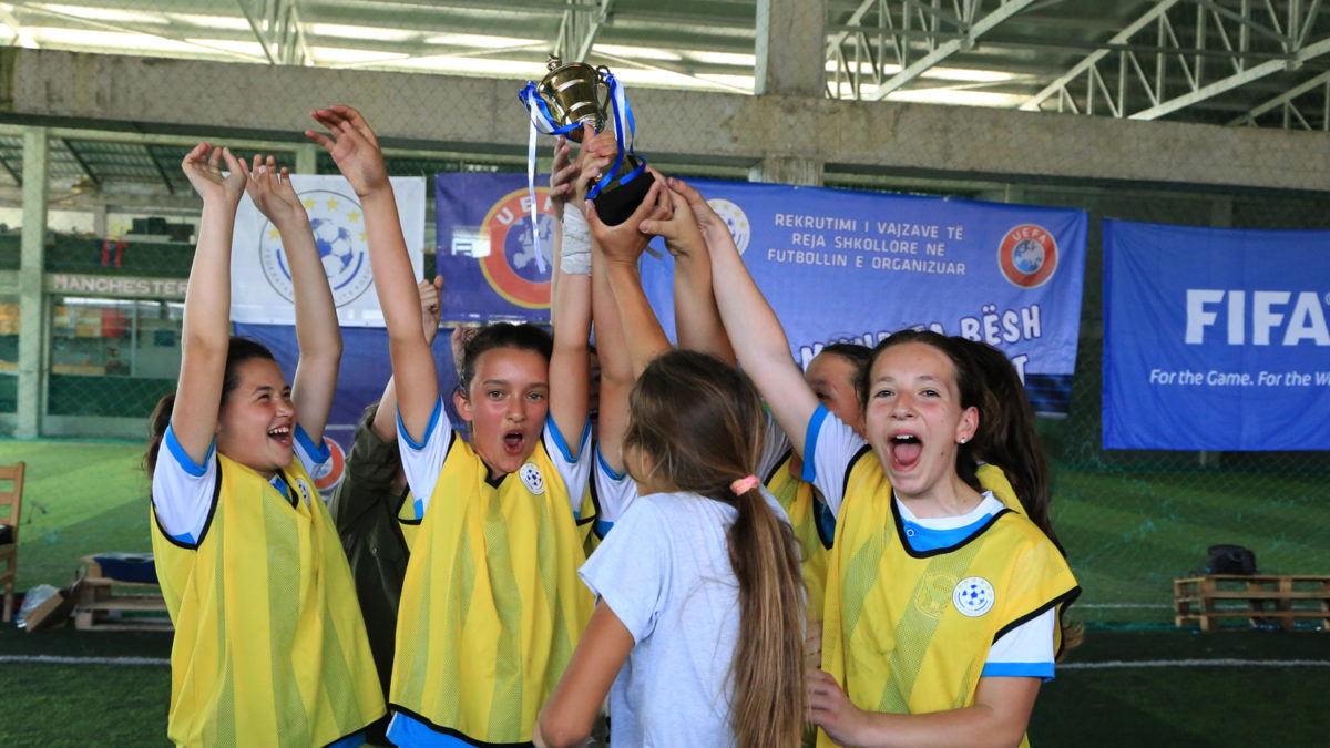Projekti rekrutimi i vajzave në futboll/ Malisheva, vatër e talenteve të futbollit