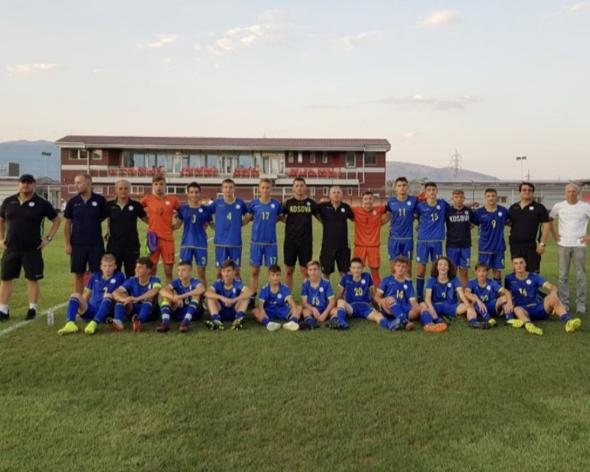 Kosova U15 e mposhti edhe Maqedoninë e Veriut