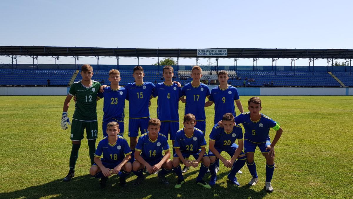 Kosova U15 triumfoi në turneun e mbajtur në Shkup