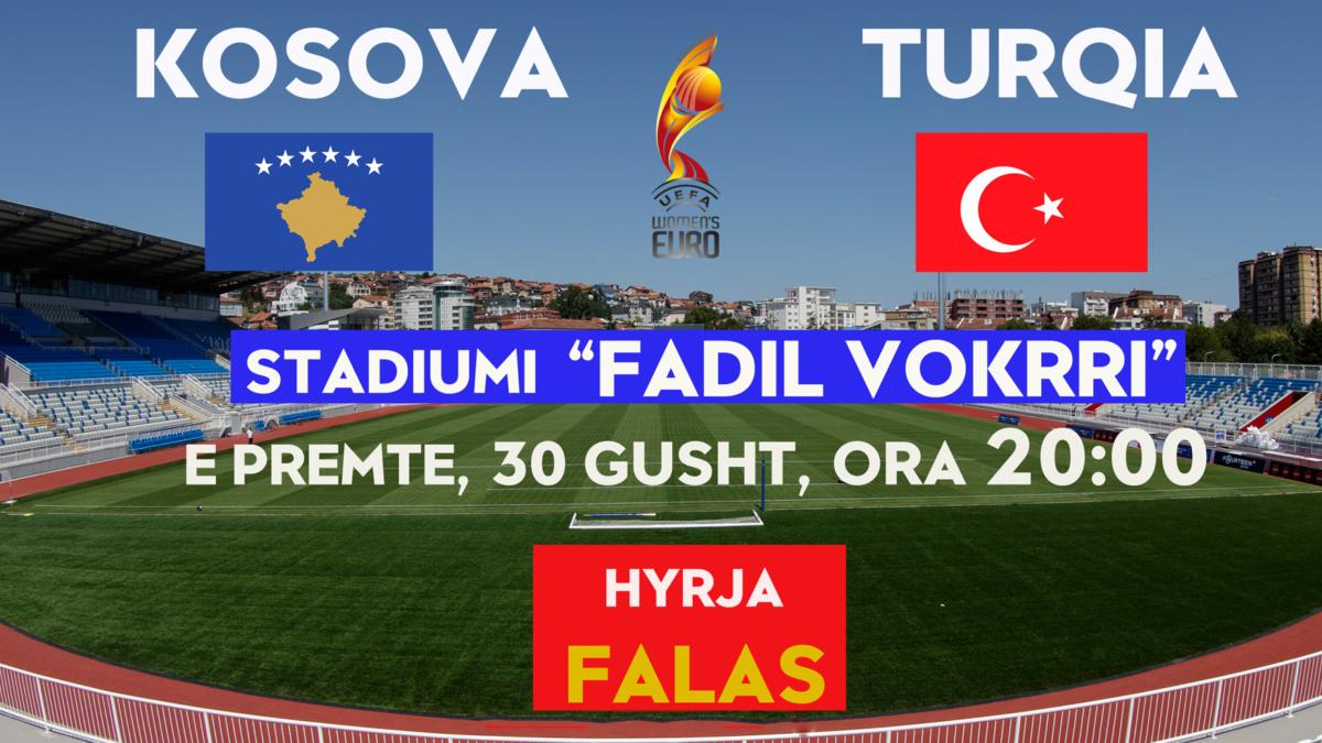 Kombëtarja e Kosovës (femrat) nesër nis përgatitjet për dy ndeshjet e para kualifikuese