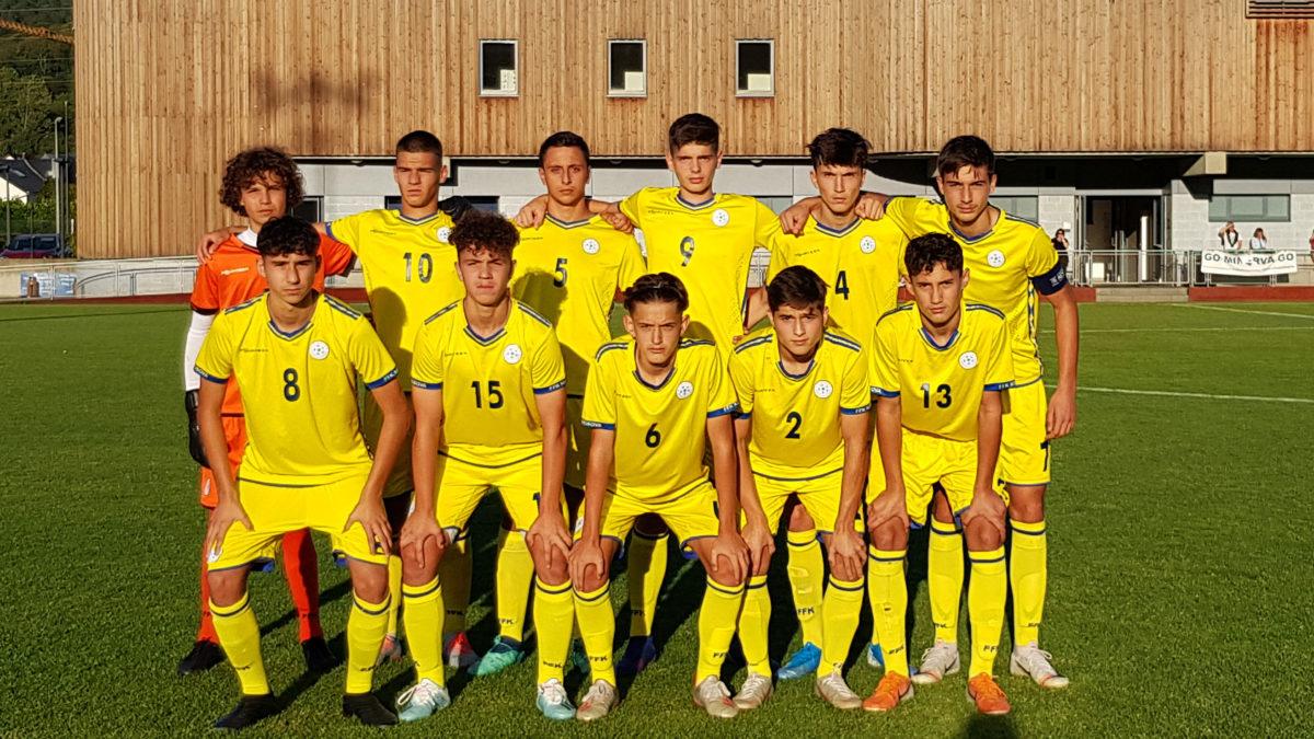 Kombëtarja U16 shënoi fitore në miqësoren kundër Luksemburgut