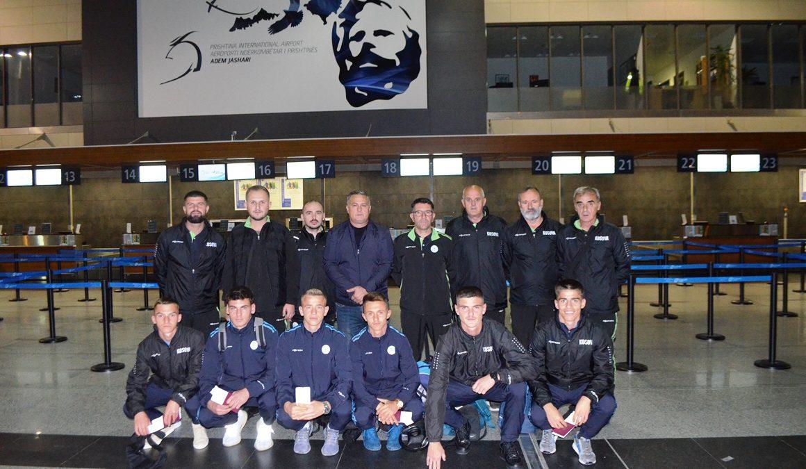 Kombëtarja U17 udhëtoi për në Holandë