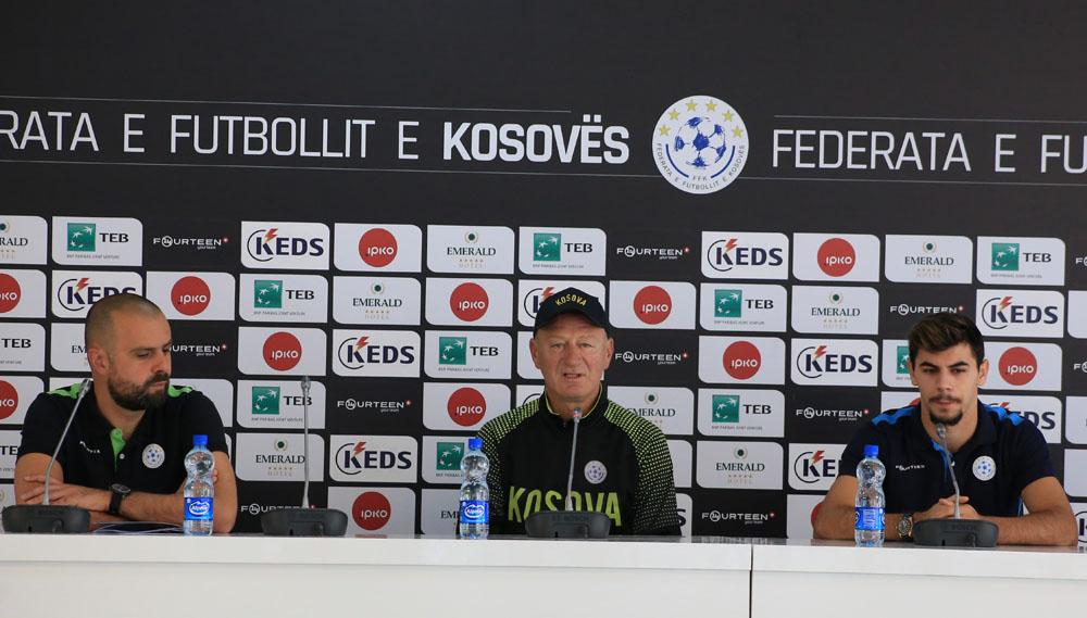 Prekazi e Kastrati shfaqen optimistë për ndeshjen me Shqipërinë