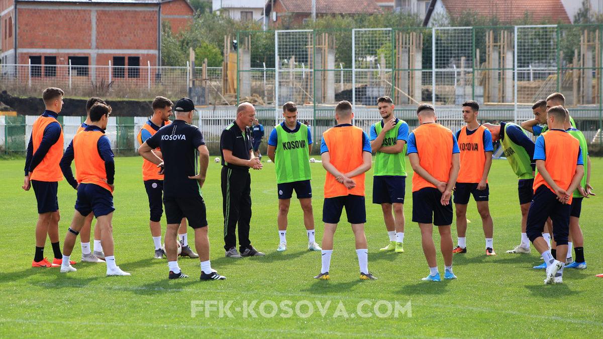 Dardanët e rinj përgatiten me përkushtim, optimistë për fitore kundër Shqipërisë