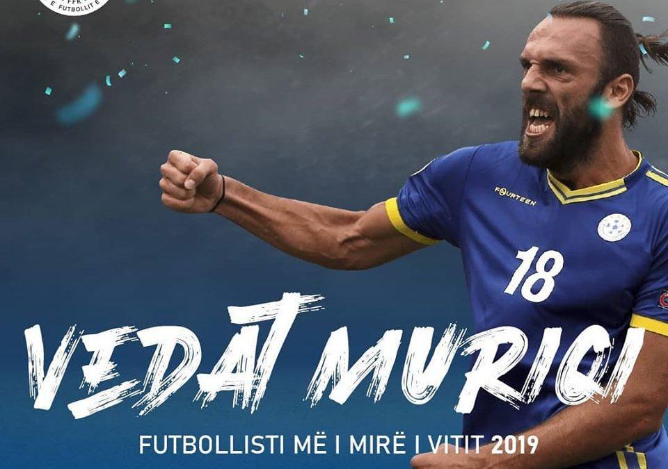 """Vedat Muriqi fitues i çmimit """"Futbollisti më i mirë i vitit 2019"""""""