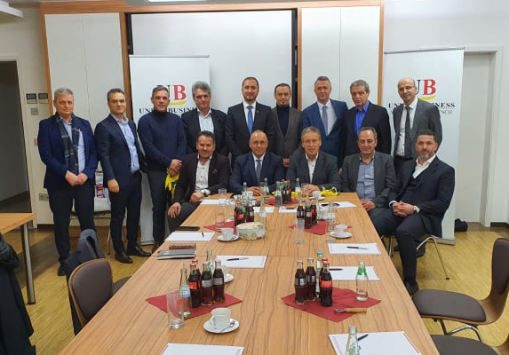 FFK nënshkroi marrëveshje me Unionin e Bizneseve Shqiptare-Gjermane në Dyseldorf