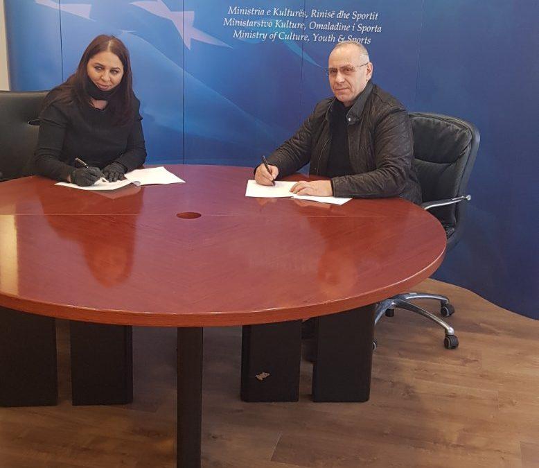 FFK nënshkroi memorandumin e bashkëpunimit me MKRS-në
