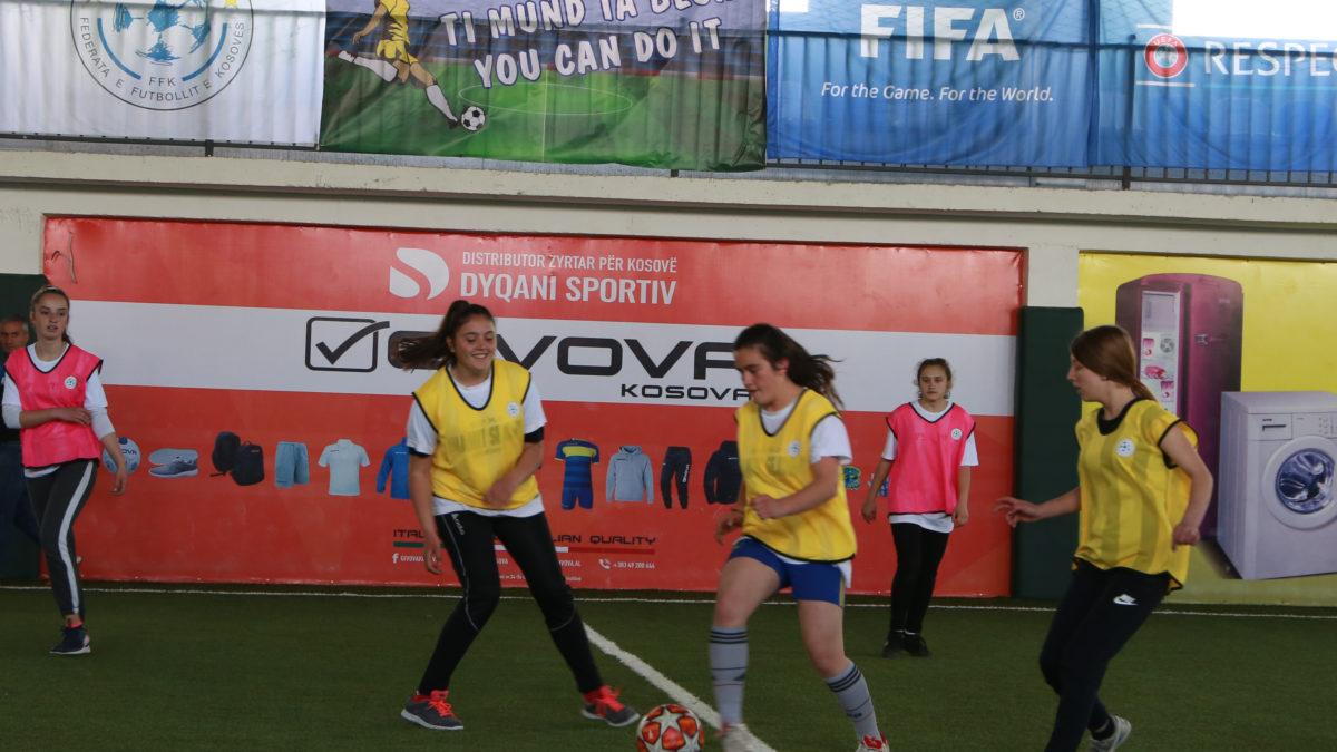 Rekrutimi i vajzave në futboll/ Turne interesant dhe me shumë talente edhe në Podujevë