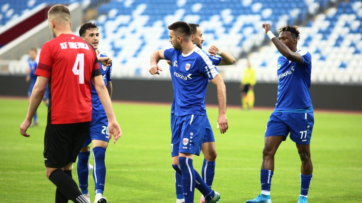 Prishtina arrin fitore të rëndësishme, Flamurtari lëshon pikë në Vushtrri