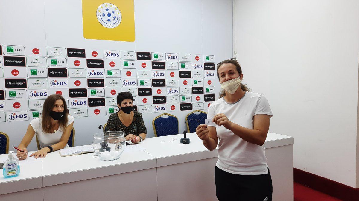 U tërhoq shorti për edicionin e ri edhe në Ligën e Femrave