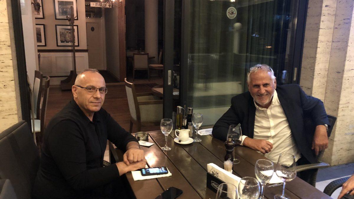 Presidenti Ademi dhe përzgjedhësi Challandes në darkë të përbashkët