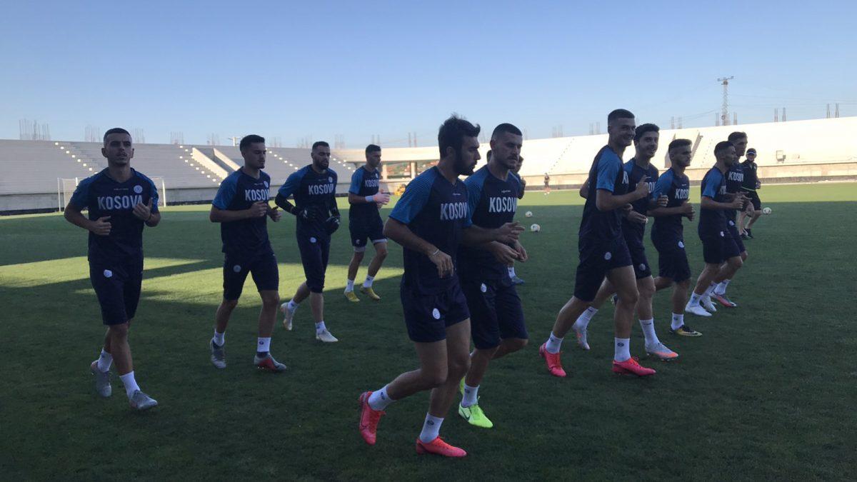 Kombëtarja U21 filloi përgatitjet për ndeshjen me Anglinë