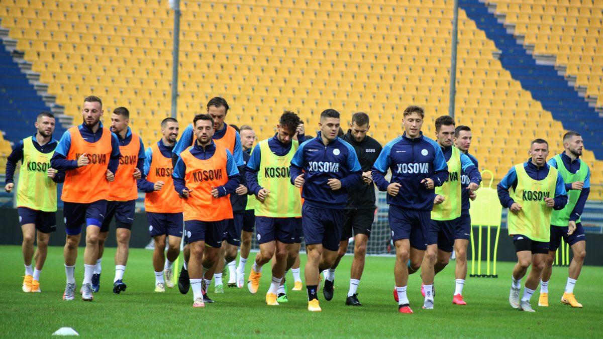 """Kombëtarja kryen stërvitjen në """"Ennio Tardini"""", Challandes e pret me optimizëm përballjen me Moldavinë"""