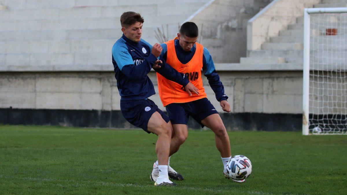 Kombëtarja u rikthehet stërvitjeve për ndeshjen me Slloveninë